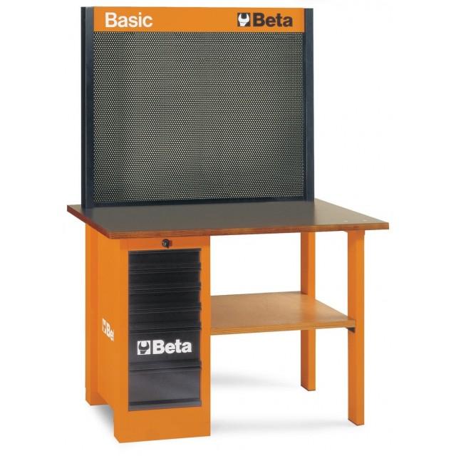 BANCO DA LAVORO BETA BASIC C58A CON 86 UTENSILI 5800A/U