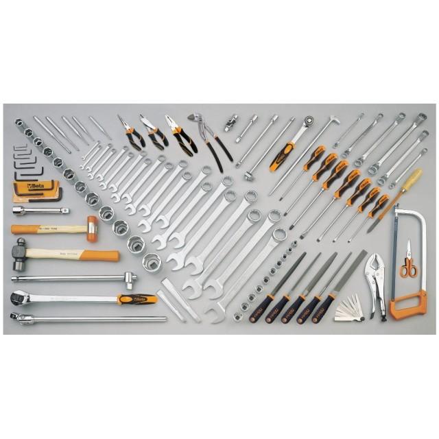 Набор из 99 инструментов для землеройных машин (CATERPILLAR) 5902 MTAS