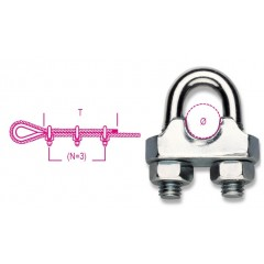 8016 FR10-WIRE ROPE CLIPS...