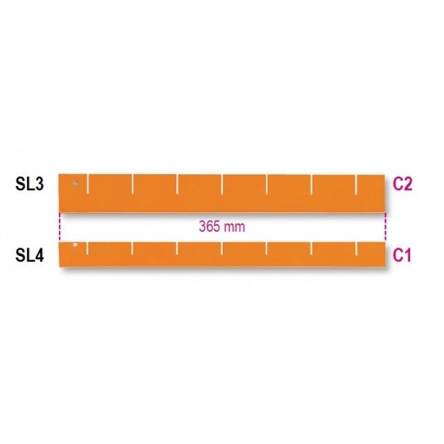SEPARATORI LONGITUDINALI 365X45 SL3