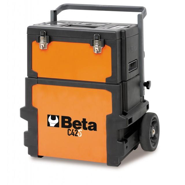 TROLLEY PORTA ATTERZZI C42S CON 133 UTENSILI BETA 4200S/SBK