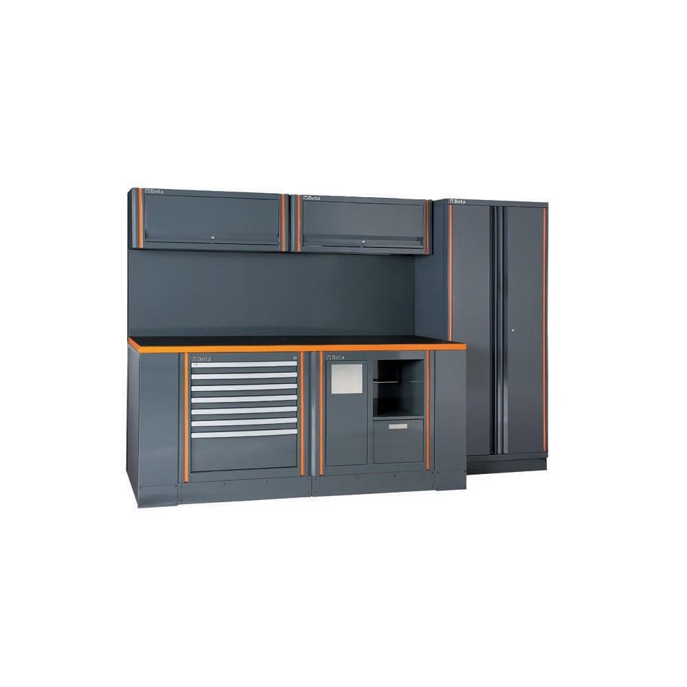 Banco da lavoro arredo officina beta c55ab 2 betafer for Arredamento officina meccanica