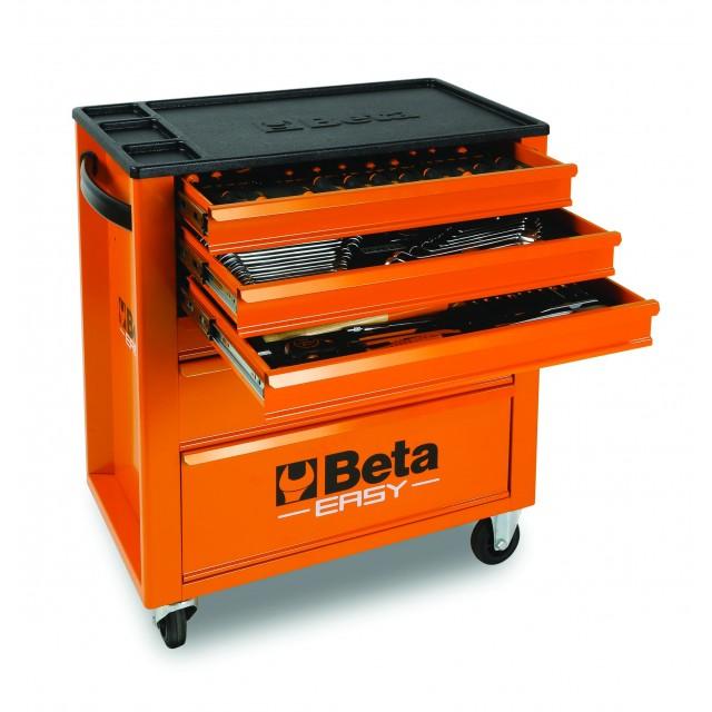 Lade gereedschap met 148 gereedschappen Beta 9324/VA
