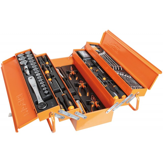 TOOL BOX WITH THERMOFORMED AND 91 TOOLS - BETA 2120L-E/T91-I
