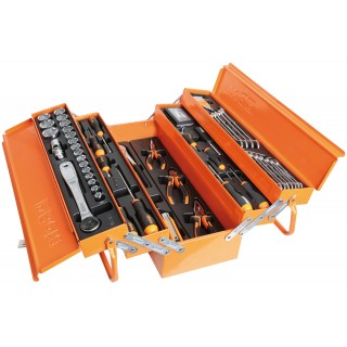 TOOL BOX WITH THERMOFORMED AND 91 TOOLS