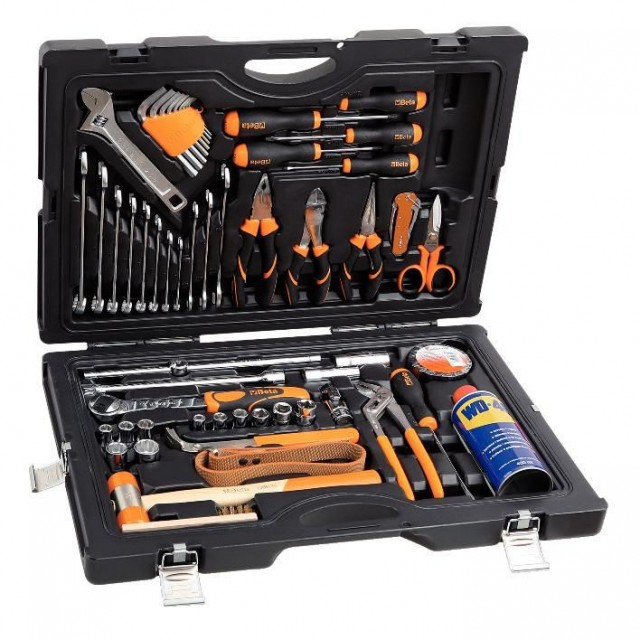 CASE WITH 55 TOOLS FOR NAUTICAL MAINTENANCE BETA TOOLS 2051N