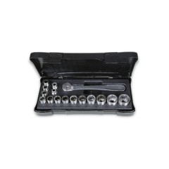 Set of ​15 sockets and 1 ratchet, made of stainless steel, BETA 920INOX/C16