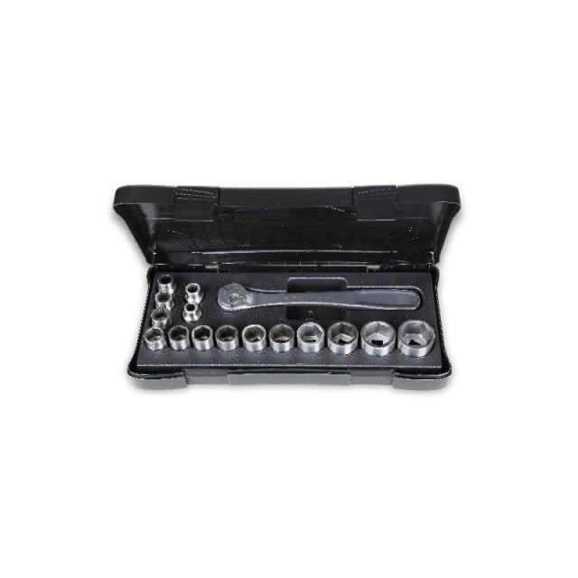 Set di 16 chiavi a bussola in acciaio inox Beta 920INOX/C16