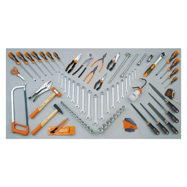 Assortment of 86 tools, Beta 5958U