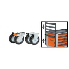 Kit con quattro ruote e maniglione per C23ST - Beta 2300ST/KIT
