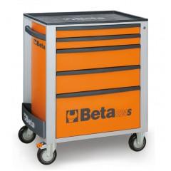 Cassettiera mobile con 5 cassetti - Beta C24S/5