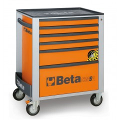 Mobile roller cab with six drawers,  with anti-tilt system - Beta C24SA/6