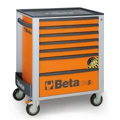 Cassettiera mobile con 7 cassetti, con sistema antiribaltamento - Beta C24SA/7