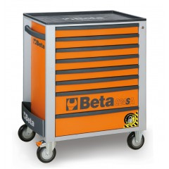 Mobile roller cab with eight drawers,  with anti-tilt system - Beta C24SA/8