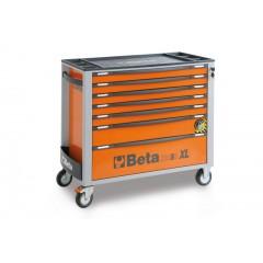 Wózek narzędziowy z 7 szufladami, z systemem zabezpieczającym przed