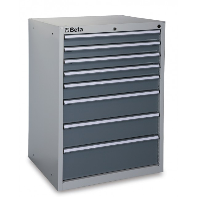 Industrial tool chest with eight drawers - Beta C35/8G