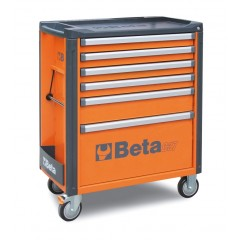 Mobile roller cab with 6 drawers - Beta C37/6