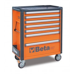 Mobile roller cab with 7 drawers - Beta C37/7