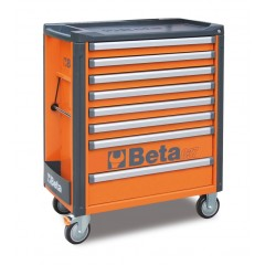 Mobile roller cab with 8 drawers - Beta C37/8
