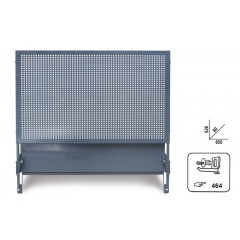 Perforated panel with brackets for mobile roller cab item C37 - Beta 3700/PF