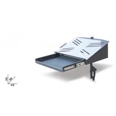 Computer bracket for mobile roller cab item C37 - Beta 3700/PC