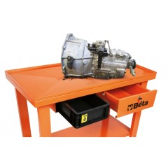 Gearbox/transmission trolley with liquid recovery system - Beta CB52