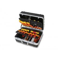 Trolley con assortimenti di utensili per elettronica ed elettrotecnica - Beta 2036E