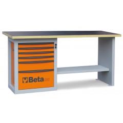 """Banchi da lavoro """"Endurance"""" con 1 cassettiera da 6 cassetti - Beta C59A"""