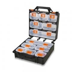 Valigia organizer con 12 vaschette asportabili, vuota - Beta 2080/V12