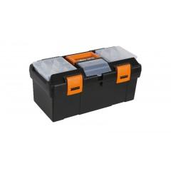 Cestello in materiale plastico con contenitore e vaschette portaminuterie asportabili, vuoto - Beta CP15 - 2115