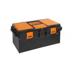 Cestello modello lungo in materiale plastico  con contenitore e vaschette portaminuterie, vuoto - Beta CP15L - 2115