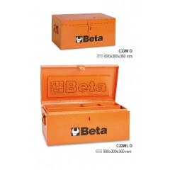 Bauli portautensili in lamiera, rivestiti internamente in legno per una maggiore protezione degli utensili - Beta C22W