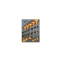 Modulo rigido chiavi maschio esagonale piegate con impugnatura - Beta T50