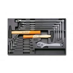 Modulo rigido chiavi maschio esagonali snodate e fisse con utensili a percussione - Beta T59
