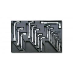 Modulo rigido chiavi a pipa doppie esagonali - Beta T75