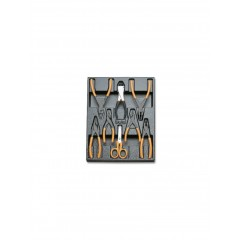 Modulo rigido pinze per anelli elastici e taglio - Beta T140