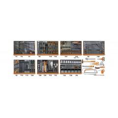 Assortimento di 212 utensili per autoriparazione in moduli rigidi - Beta 5908VG/2T