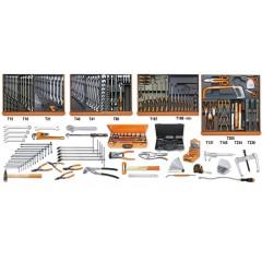 Assortimento di 261 utensili per manutenzioni industriali in moduli rigidi - Beta 5910VI/3T