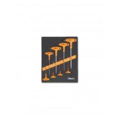 Modulo morbido chiavi maschio esagonale piegate con impugnatura - Beta M50
