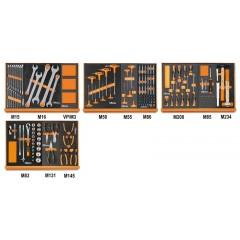 Assortimento di 170 utensili per autoriparazione in moduli morbidi - Beta 5904VG/2M