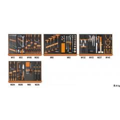 Assortimento di 151 utensili per impiego universale in moduli morbidi - Beta 5904VU/2M