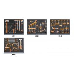 Assortimento di 154 utensili per impiego universale in moduli morbidi - Beta 5935VU/1MB