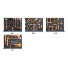 Assortimento di 133 utensili per manutenzioni industriali in moduli morbidi - Beta 5935VI/2MB