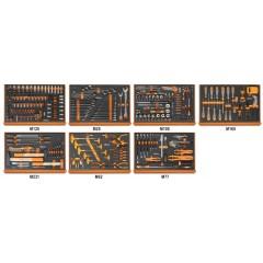 Assortimento di 333 utensili per autoriparazione in moduli morbidi - Beta 5988ROAD/7M