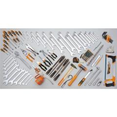 Assortimento di 107 utensili per manutenzioni industriali - Beta 5902VI
