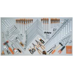 Assortimento di 138 utensili per autoriparazione - Beta 5954VG