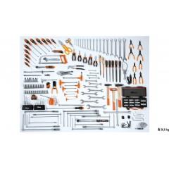 Assortimento di 174 utensili per autoriparazione - Beta 5957VG