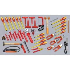 Assortimento di 46 utensili per elettrotecnica - Beta 5980MQ