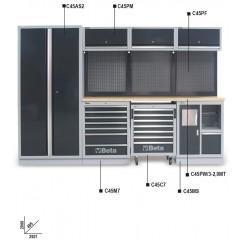 Combinazione arredo officina C45 - Beta C45/W