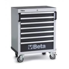 Cassettiera mobile con 7 cassetti per arredo officina - Beta C45C7